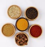 Especia - grano - aroma Fotografía de archivo