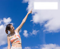 Especial cloud Royalty Free Stock Photo