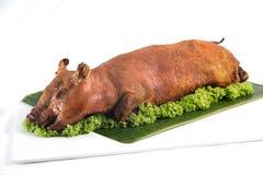 Especialidades asadas del cerdo de cría - 7mo mes lunar Imagen de archivo libre de regalías