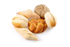 Especialidades do pão Fotografia de Stock