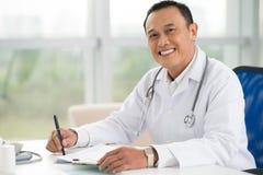 Especialista médico fotografia de stock