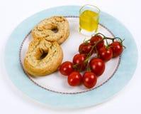 Especially Italian finger food Royalty Free Stock Image