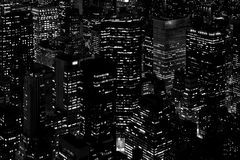 Skyscrapers. Especially the skyscrapers of Manhattan Royalty Free Stock Image