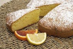 Especially sweet citrus slice Stock Image