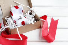 Especially valuable gift Stock Images