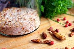 Especiaria quente Chili Salt Imagens de Stock Royalty Free