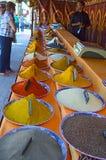 Especiarias árabes fotografia de stock