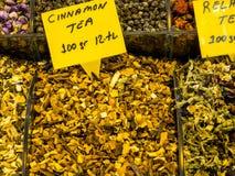 Especiarias fotografia de stock