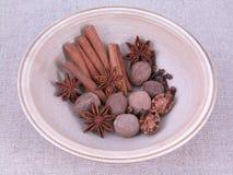 Especiarias aromáticas Imagem de Stock Royalty Free