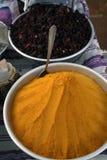 Especiarias coloridas - Egipto Fotos de Stock Royalty Free