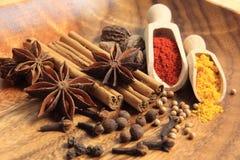 Especiarias de Arometic Foto de Stock Royalty Free