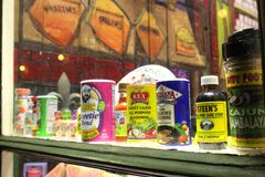 Especiarias de Cajun Imagem de Stock