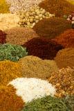 Especiarias e ervas fotografia de stock