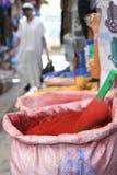 Especiarias em Marrocos Fotografia de Stock