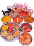 Especiarias indianas Imagem de Stock Royalty Free