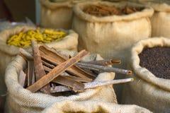 Especiarias indianas Fotografia de Stock