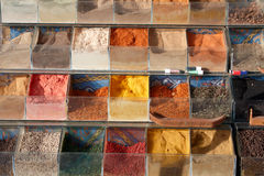 Especiarias no mercado de Egipto Fotos de Stock Royalty Free