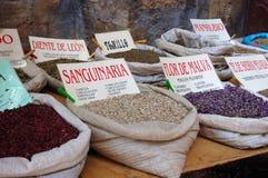 Especiarias no mercado oriental Imagem de Stock Royalty Free