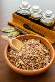 Especiarias orgânicas Foto de Stock