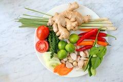 Especiarias para cozinhar Imagem de Stock