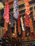Especiarias secadas Fotografia de Stock