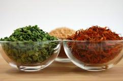 Especiarias secas Foto de Stock