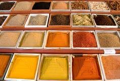 Especias coloreadas Imágenes de archivo libres de regalías