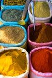Especias de Colourfull Fotos de archivo libres de regalías