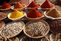 Especias de Maroko imagen de archivo libre de regalías