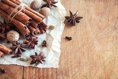 Especias del aroma Imagenes de archivo