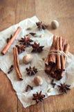 Especias del aroma Fotografía de archivo libre de regalías