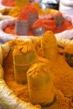 Especias del curry Imágenes de archivo libres de regalías
