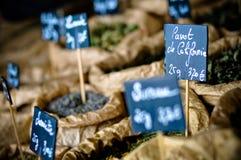 Especias e hierbas francesas Fotos de archivo libres de regalías