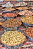 Especias en el mercado callejero Fotografía de archivo