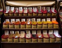 Especias en Granada Fotografía de archivo libre de regalías