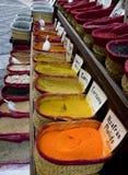 Especias en Granada Fotos de archivo