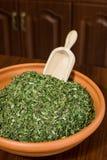 Especias finas de las hierbas Foto de archivo