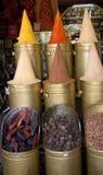 Especias marroquíes imágenes de archivo libres de regalías