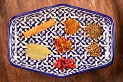 Especias marroquíes Foto de archivo