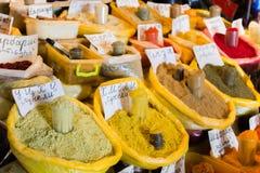 Especias para la comida Imagen de archivo