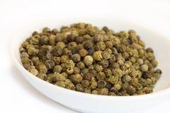 Especias - pimienta verde Imagen de archivo