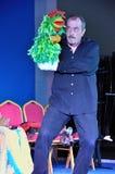 Espectáculo de marionetas portugués Imagen de archivo