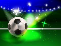 Espectáculo del fútbol Imágenes de archivo libres de regalías