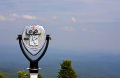 Espectador binocular Foto de archivo libre de regalías