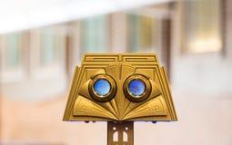 Espectador del oro Fotos de archivo libres de regalías