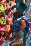 Espectador novo do carnaval Fotos de Stock