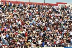 Espectadores da multidão Fotografia de Stock