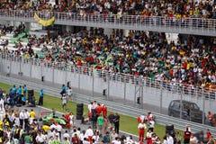 Espectadores no anfiteatro principal Fotografia de Stock