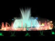 Espectáculo de luces y de colores Imagen de archivo libre de regalías