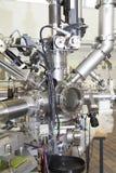 Espectrómetro de masas en laboratorio nuclear Imagen de archivo libre de regalías